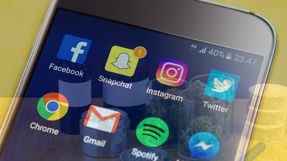 Teens Buying Drugs on Social Media